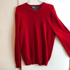 Polo Ralph Lauren Red Sweater